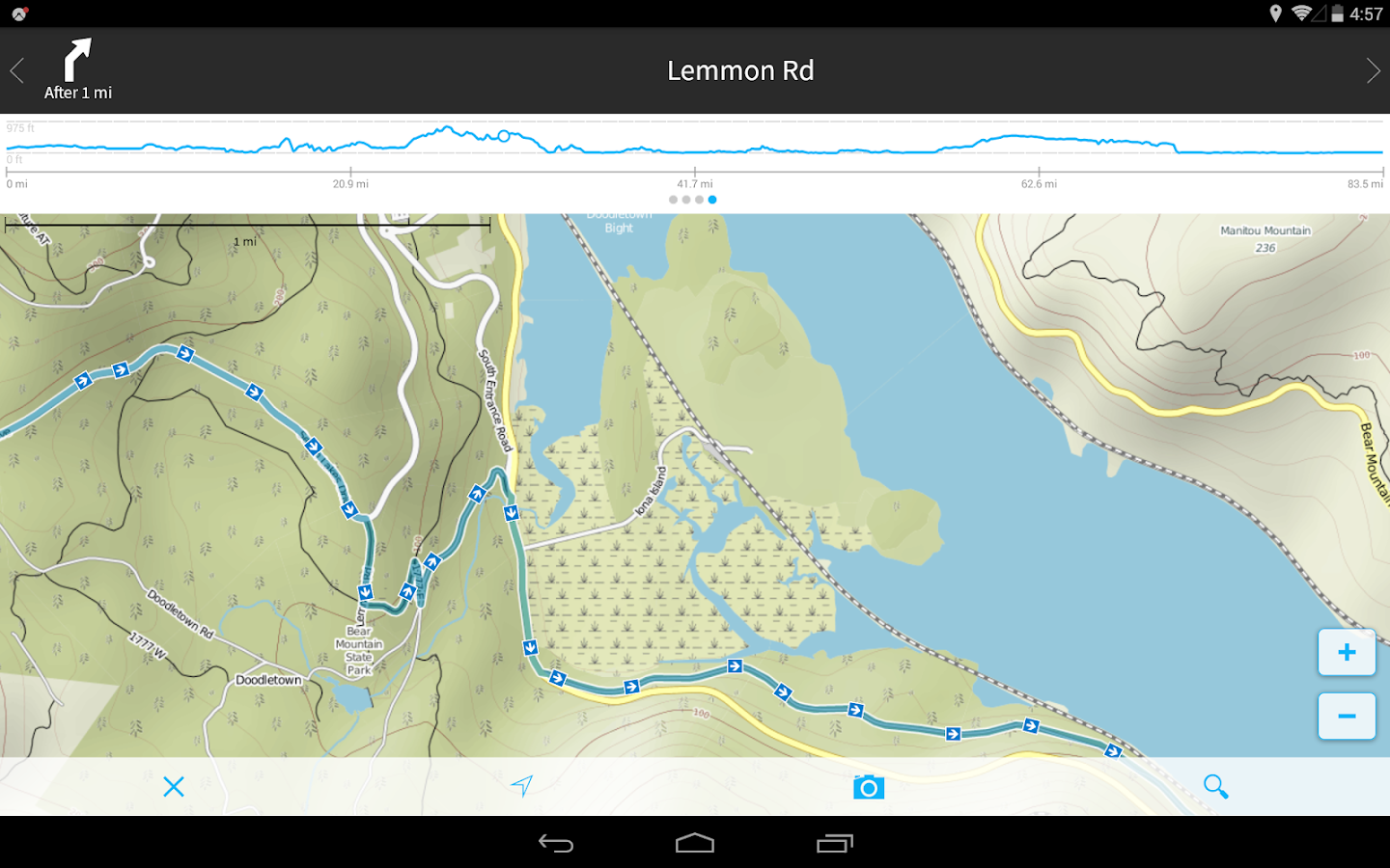 komoot — Hike & Bike GPS Maps- screenshot