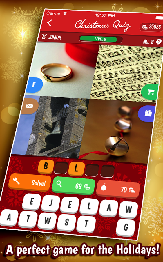 Christmas Quiz - screenshot