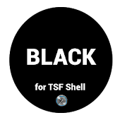Black Theme for TSF Shell