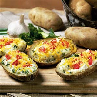 Confetti Twice-Baked Potatoes
