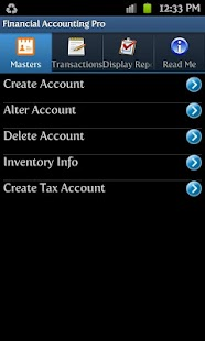 Financial Accounting Free - screenshot thumbnail