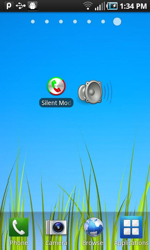 Silent Mode Toggler - screenshot