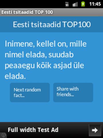 TOP100 Eesti tsitaadid