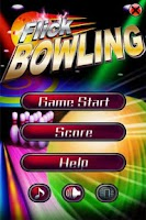Screenshot of 3D Flick Bowling Games