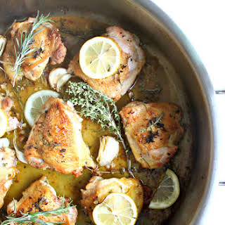 Rustic Lemon Herb Chicken |.