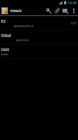 R2Mail2 License Screenshot