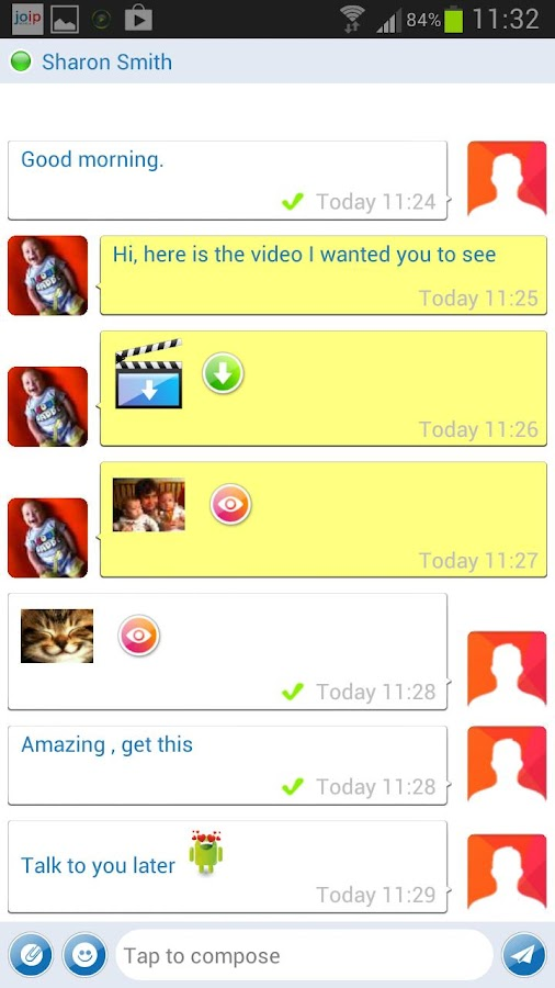 joip One - IM , Voice & Video- screenshot