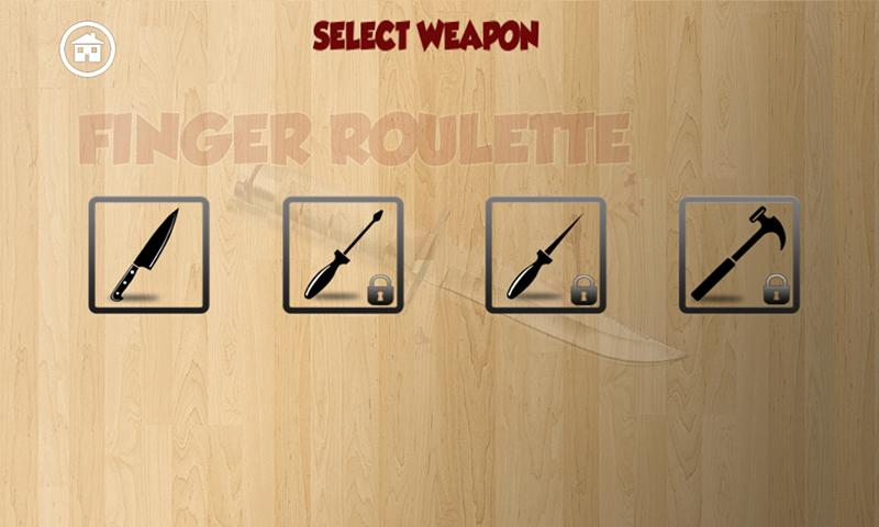 Finger Roulette (Knife Game)- screenshot