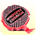 Whoopee Cushion!  ( fart ) logo
