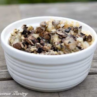 Clean Eating Mushroom & Brown Rice Casserole Recipe