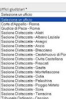 Screenshot of Giustizia PST