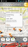 Screenshot of HappyTimes HappyHour Nürnberg