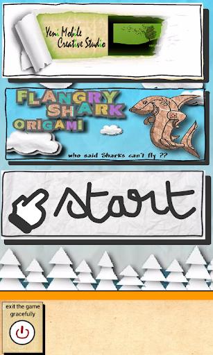 Flangry Shark Origami
