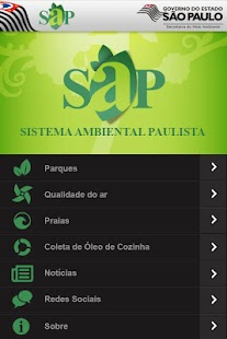 SAP Sistema Ambiental Paulista - screenshot thumbnail
