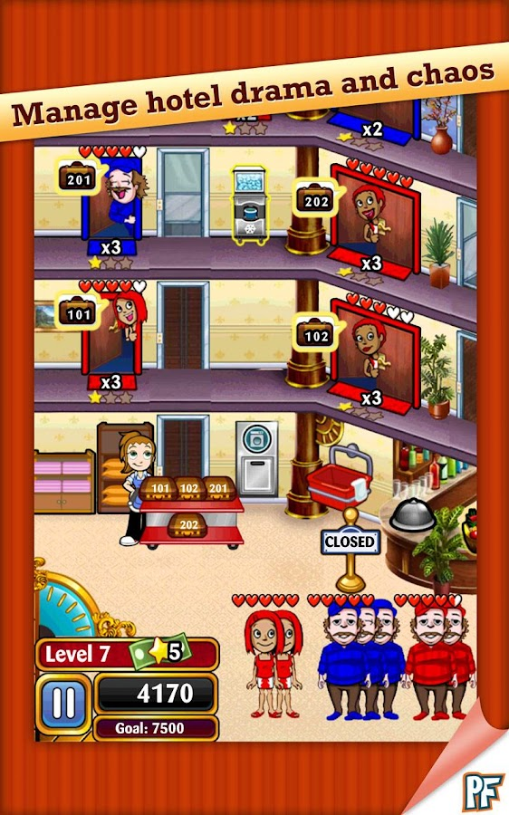 Hotel Dash- screenshot
