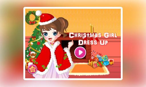Christmas Girl Dress -Holiday