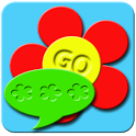 GO SMS Summer Flowers Theme icon