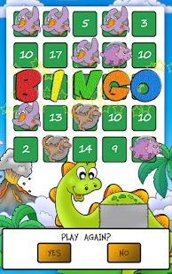 Dino Math Bingo- screenshot thumbnail