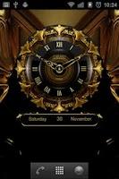 Screenshot of TORAS Luxury Clock Widget