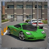 3D Driving School Yard Parking