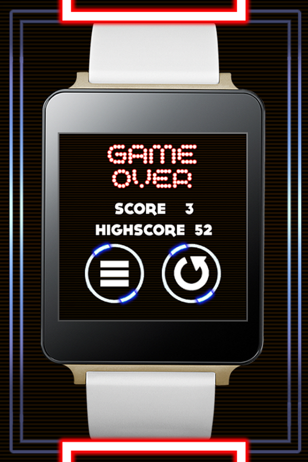 Ball Escape - Android Wear- screenshot