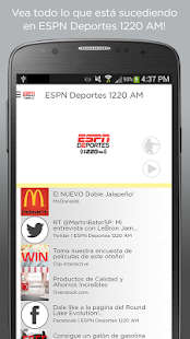 ESPN Deportes 1220 AM- screenshot thumbnail