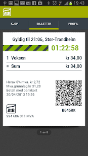 AtB Mobillett - screenshot thumbnail