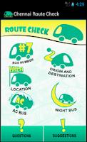 Screenshot of Chennai Bus Route Check - MTC
