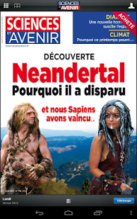 Sciences et Avenir magazine- screenshot thumbnail