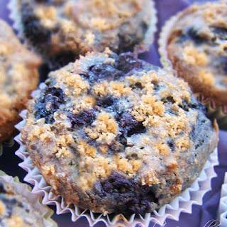 Gluten-Free Blueberry Cake Cupcakes