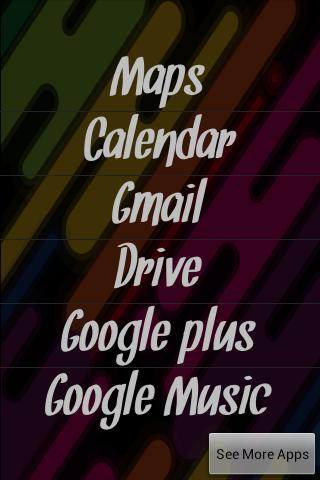 Google Apps Launcher