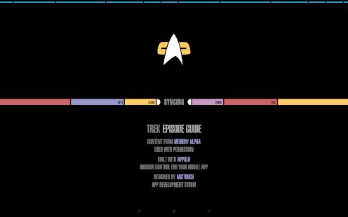 Trek Episode Guide- screenshot thumbnail