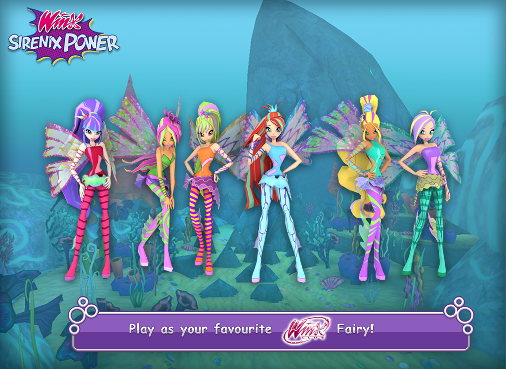 Winx Club: Winx Sirenix Power - screenshot