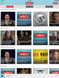 WBOI Public Radio App- screenshot thumbnail