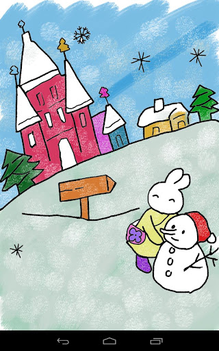 兒童塗色本 - 聖誕卡片