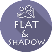 FLAT & SHADOW ICONS APEX/NOVA