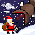Super Mega Worm Vs Santa Saga icon