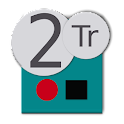 Twotrack, graba audio gratis icon