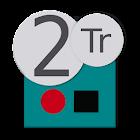Twotrack gravador gratuito icon