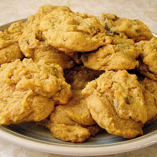Pumpkin Chocolate Chip Cookies recipe – 162 calories