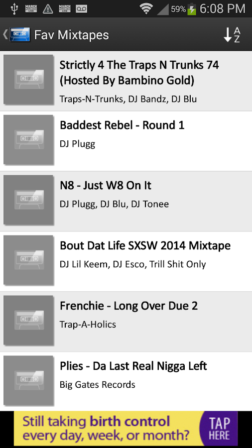 Mix.Hiphop Mixtapes - screenshot