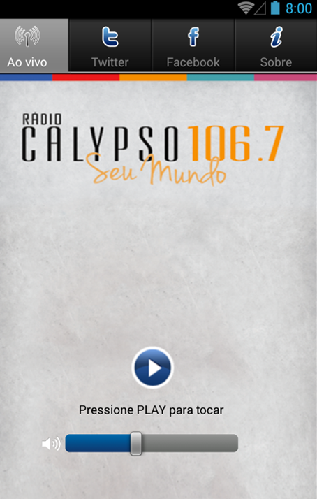 Calypso FM 106,7 - screenshot