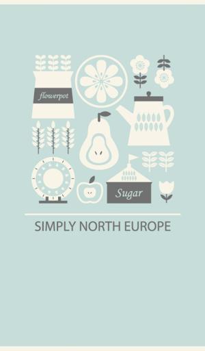 simply north europe 카카오톡 테마