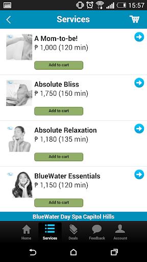 健康必備APP下載|BlueWater Day Spa 好玩app不花錢|綠色工廠好玩App
