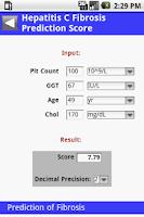 Screenshot of MedCalc 3000 G.I.