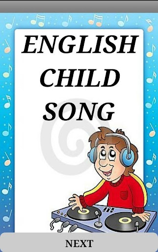 ENGLISH CHILD SONG s