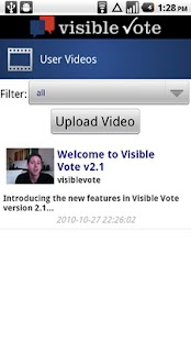 Visible Vote Mobile - screenshot thumbnail
