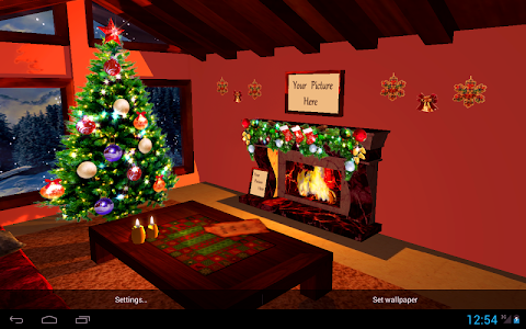3D Christmas Fireplace HD Full v1.16