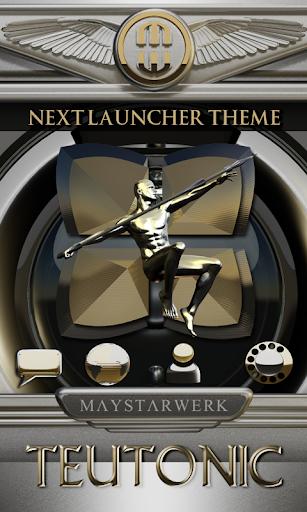 Next Launcher Theme Teutonic