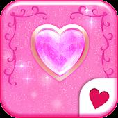 Cute wallpaper★Shiny heart